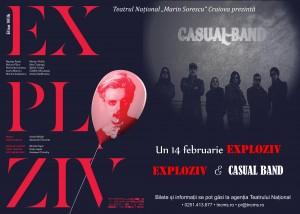 """Exploziv"" & Casual Band la Teatrul National Craiova"